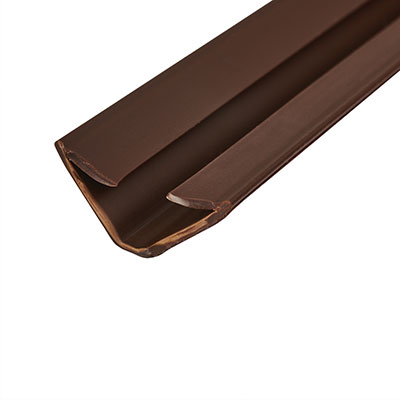 Lorient IS1515 Batwing Acoustic and Smoke Seal - 15 x 15 x 2100mm - Dark Brown - Pack 5)