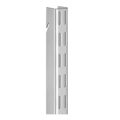 elfa® Hanging Wall Bar - 1500mm - Platinum)