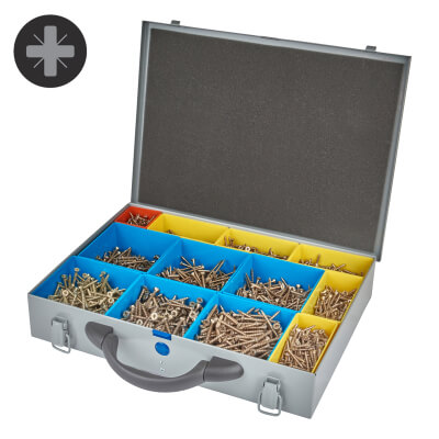 Spax Xpert Case - Pack 2400)