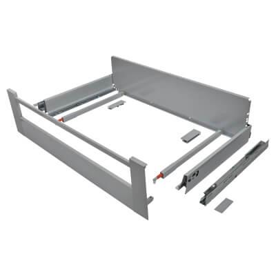Blum TANDEMBOX ANTARO Internal Drawer - BLUMOTION - (H) 203mm x (D) 450mm x (W) 800mm - Grey