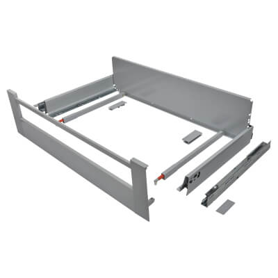 Blum TANDEMBOX ANTARO Internal Drawer - BLUMOTION - (H) 203mm x (D) 450mm x (W) 800mm - Grey