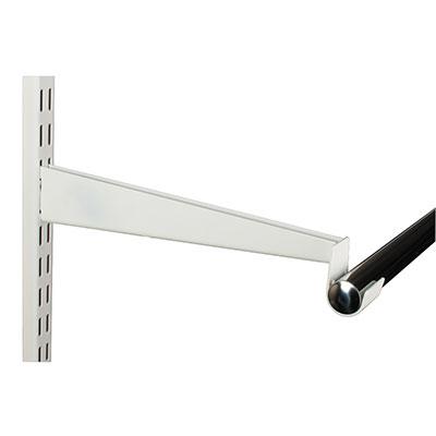 elfa Hanging Rail Bracket - 325mm - White