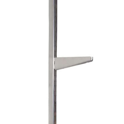 elfa Bracket for Solid Shelving - 220mm - Silver)
