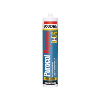 Soudal Purocol Express Wood Adhesive - 310ml)