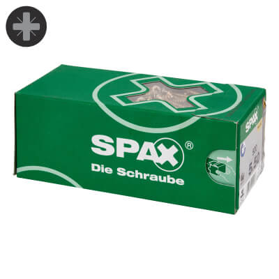 Spax Value Pack - 5.0 x 60mm - Pack 500)