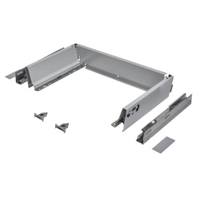 Blum TANDEMBOX ANTARO Drawer Pack - BLUMOTION Soft Close - (H) 84mm x (D) 270mm x (W) 450mm - Grey