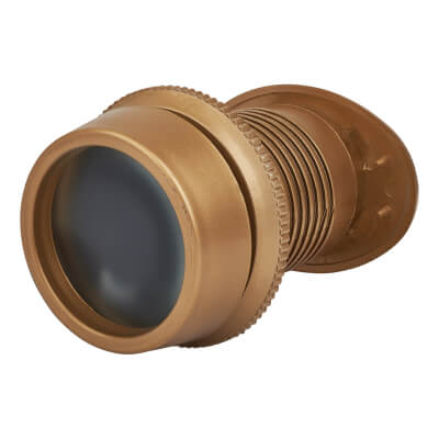 Lorient Fire Rated Wide Angle Viewer - Gold