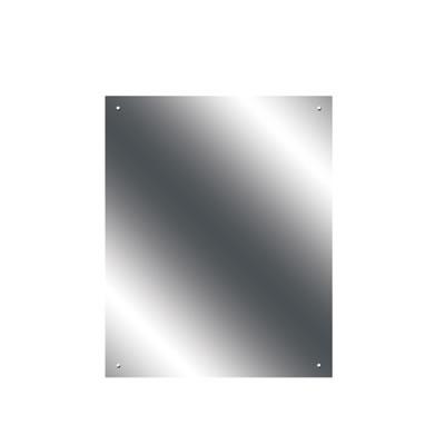 Pre Drilled Mirror - 400 x 500mm - Ultrabright Finish