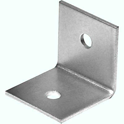 Heavy Duty Bracket - 50 x 50 x 50mm - Zinc Plated Steel - Pack 10)