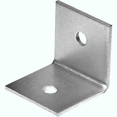 Heavy Duty Bracket - 50 x 50 x 50mm - Zinc Plated Steel - Pack 10