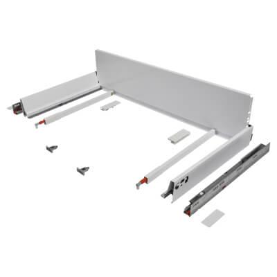 Blum TANDEMBOX ANTARO Pan Drawer - BLUMOTION Soft Close - (H) 203mm x (D) 450mm x (W) 1000mm - Whit