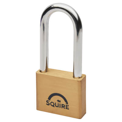 Squire Lion Open Long Shackle Padlock - 50mm