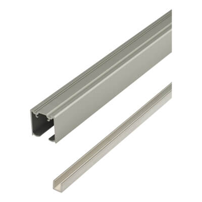 Barrier Loft Bi-Passing Sliding Door Track & Channel Kit)