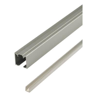 Barrier Loft Bi-Passing Sliding Door Track & Channel Kit