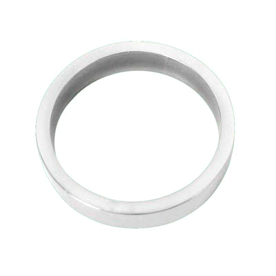 Spacer Ring For Threaded Cylinder - 10mm - Polished Chrome
