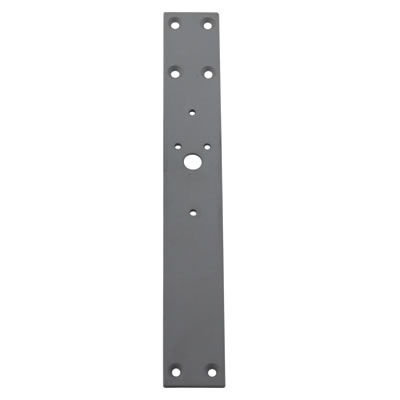 Adams Rite 4591 Paddle Panic Pad Handle Mounting Plate - Timber
