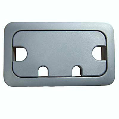 Rectangular Cable Tidy - 105 x 55mm - Dark Grey - Pack 10)
