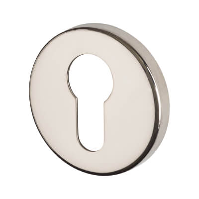 Project Escutcheon - Euro - Polished Stainless Steel)