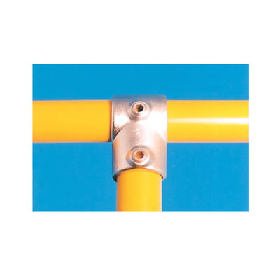 Tee Connector - Short - Galvanised