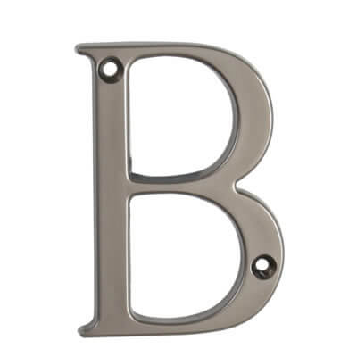 76mm Letter - B - Satin Bronze