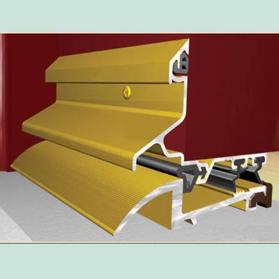 Exitex Mobility Low Weatherbar Kit - 914mm - Gold Aluminium)