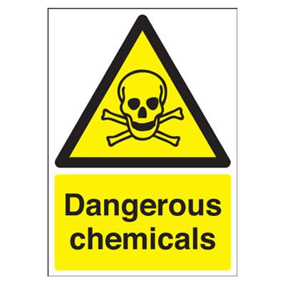 Dangerous Chemicals - 420 x 297mm