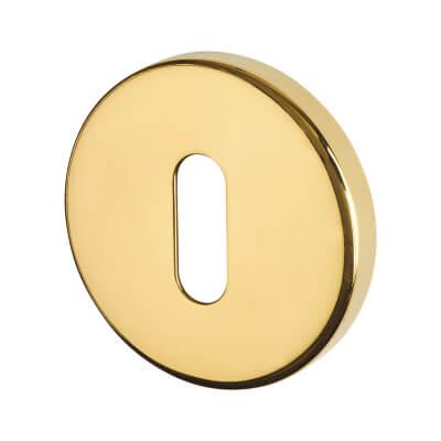 Altro Escutcheon - Keyhole - PVD Brass