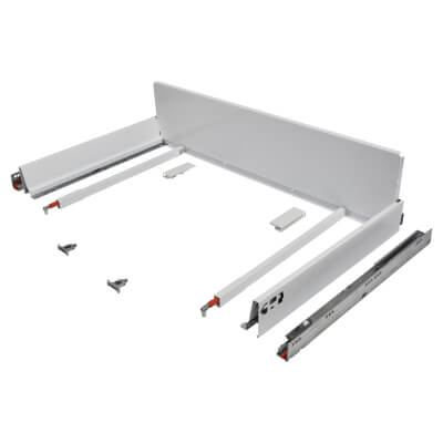 Blum TANDEMBOX ANTARO Pan Drawer - BLUMOTION Soft Close - (H) 203mm x (D) 500mm x (W) 1000mm - Whit