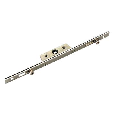 Avocet Slim U-Rail - Offset - Espagnolette Window Lock - 600mm - 20mm Backset - 6mm Cam)