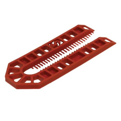 Horseshoe Packer - 101 x 43 x 5mm - Brown - Pack 200)