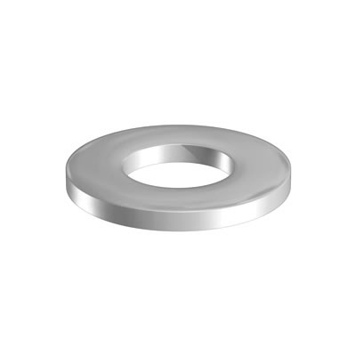 Flat Washer - Form 'A' - M10 - Zinc Plated - Pack 20