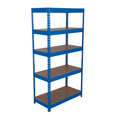 5 Shelf Budget Shelving - 175kg - 1760 x 900 x 600mm