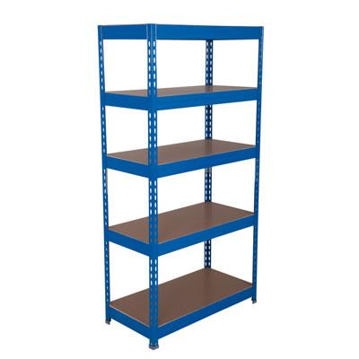 5 Shelf Budget Shelving - 175kg - 1760 x 900 x 600mm