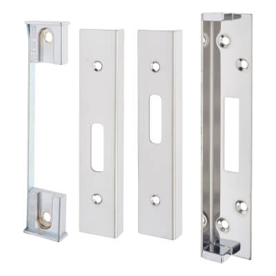 A-Spec Rebate Kit for BS8621 Deadlock - Brushed Stainless