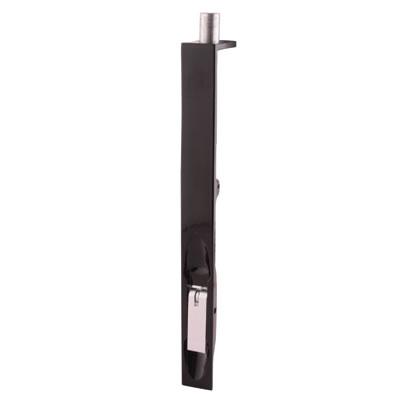 Lever Action Flush Bolt - 200 x 19mm - Black Powder Coated)