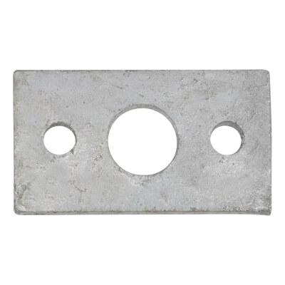 Spare Keep - Flat - 12mm Bolt - Zinc Plated)