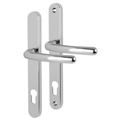 Fab & Fix Balmoral - uPVC/Timber - Multipoint Lever/Lever - 92mm centres - Bright Chrome)