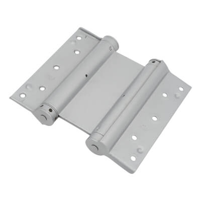 Double Action Spring Hinge - 150mm - FD30 - Silver - Pack 3