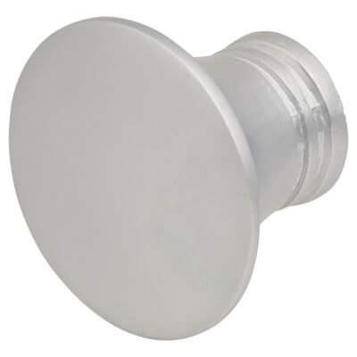 Touchpoint Jest Cabinet Knob - 29mm - Aluminium Silver)