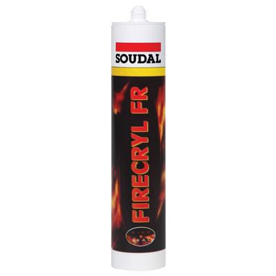 Soudal Firecryl FR - 310ml - White)