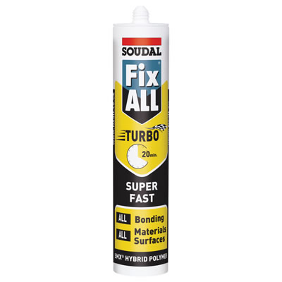 Soudal Fix All Turbo - 290ml - White)
