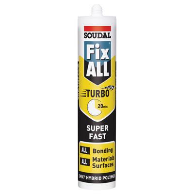 Soudal Fix All Turbo - 290ml - White)