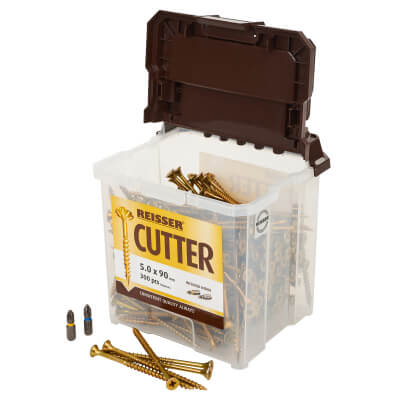 Reisser Cutter Tub - 5.0 x 90mm - Pack 300)