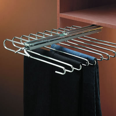 Slide Out Trouser Hanger - 470mm - Fixed