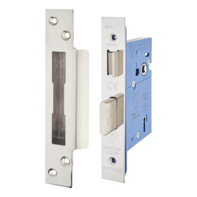 A-Spec BS3621 5 Lever Sashlock - 78mm Case - 57mm Backset - Polished Stainless