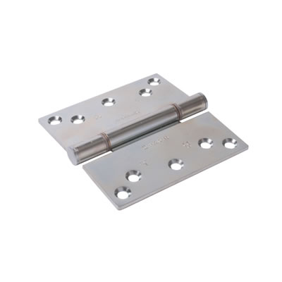 Royde & Tucker Triple Knuckle Projection Hinge - 125 x 129 x 3mm - Zinc Plated - Pair