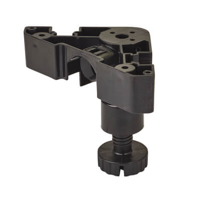 Heavy Duty Adjustable Cabinet Legs - Plastic - 95-180mm - Pack 4)