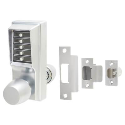 Kaba Unican 1000-1 Heavy Duty Mechanical Code Lock - Satin Chrome