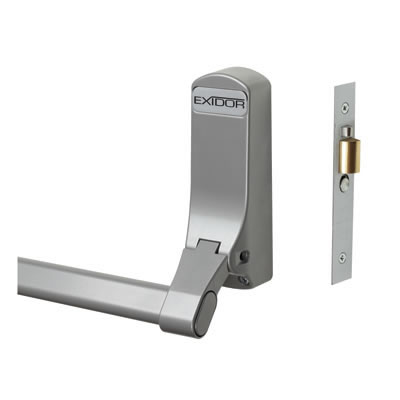 Exidor 305 Single Door Panic Bar With Mortice Actuator