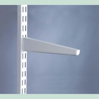elfa Bracket for Solid Shelving - 270mm - White)